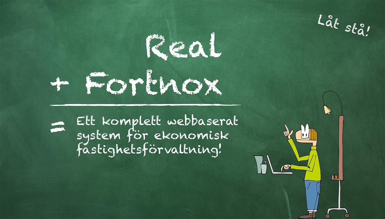 Real fastighetssystem Fortnox